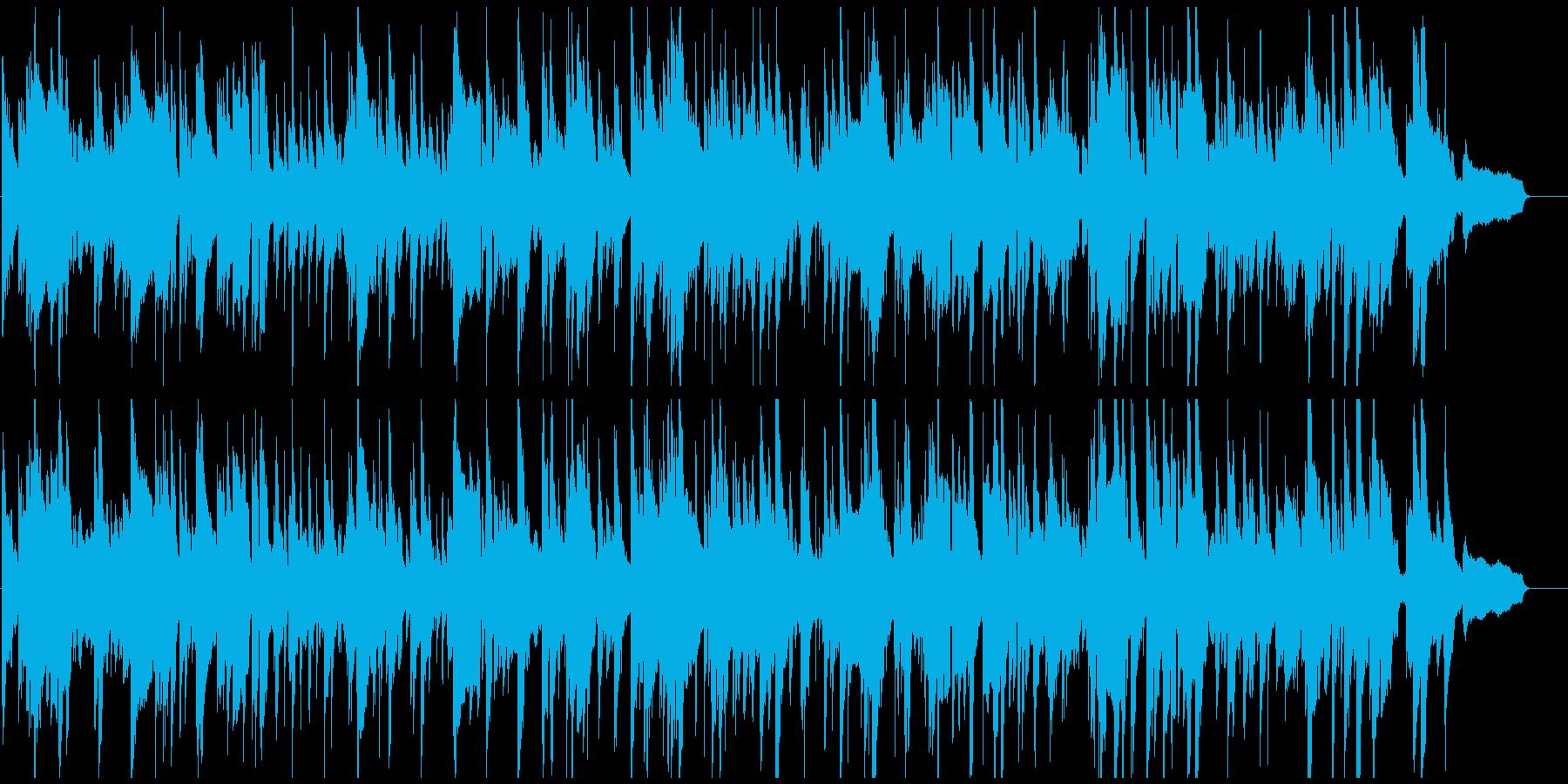 ノスタルジックなサックス・ジャズバラードの再生済みの波形