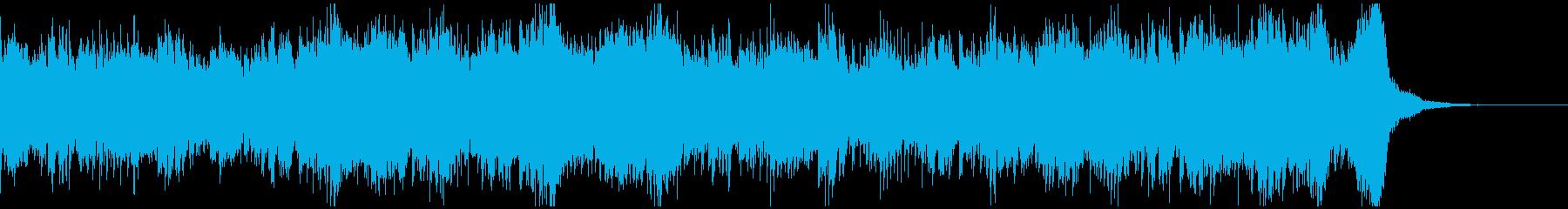 何か恐ろしいものが存在する空気感ホラーSの再生済みの波形
