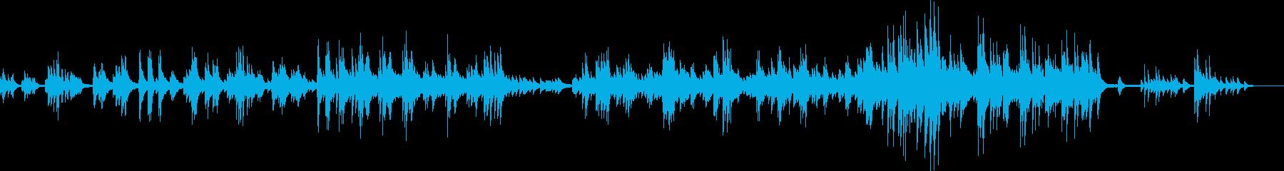 悲しい運命(ピアノ・バラード・悲劇的)の再生済みの波形