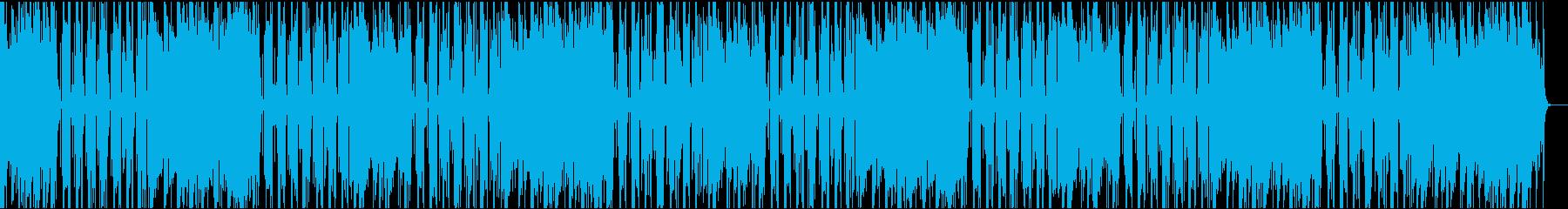 ゆったりコミカル/カラオケ/イントロ8秒の再生済みの波形