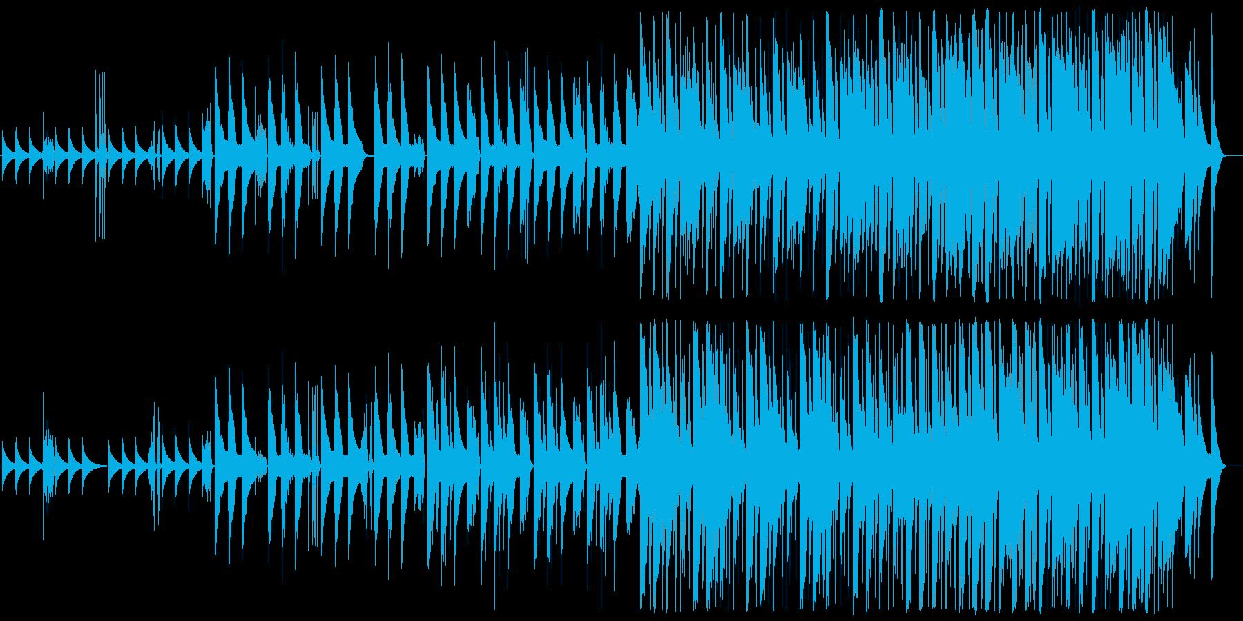 おもちゃをイメージした3拍子のかわいい曲の再生済みの波形