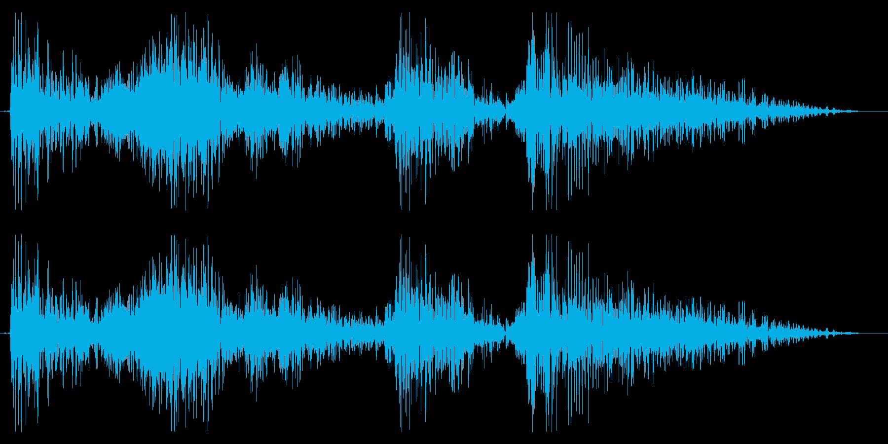 ドラゴン モンスター ゲーム 登場時の再生済みの波形