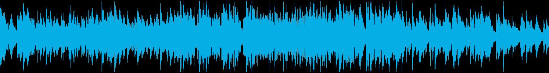 美しい音色の綺麗系ジャズ ※ループ仕様版の再生済みの波形