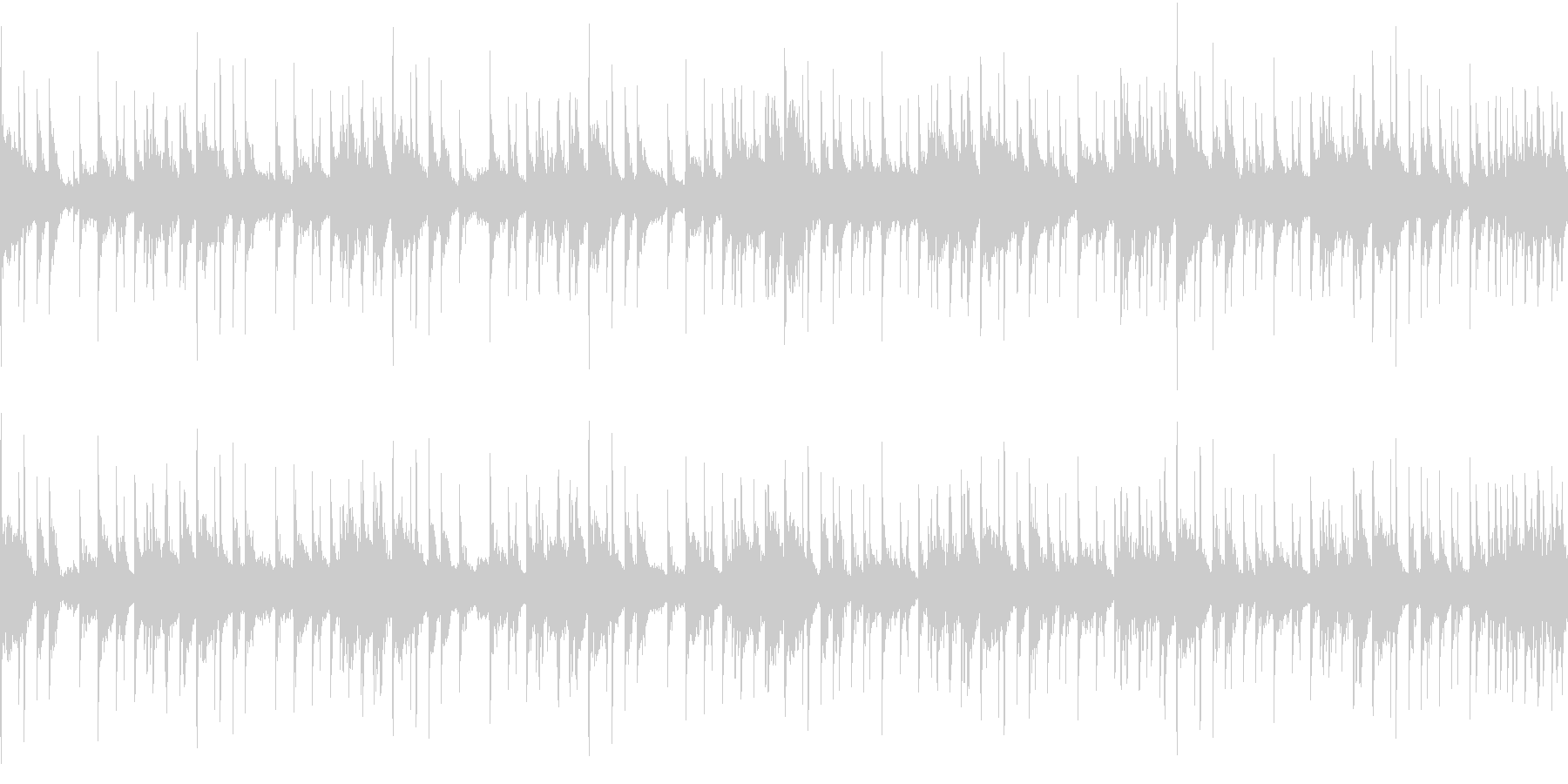 スローテンポなアーバンブルース ループ の未再生の波形