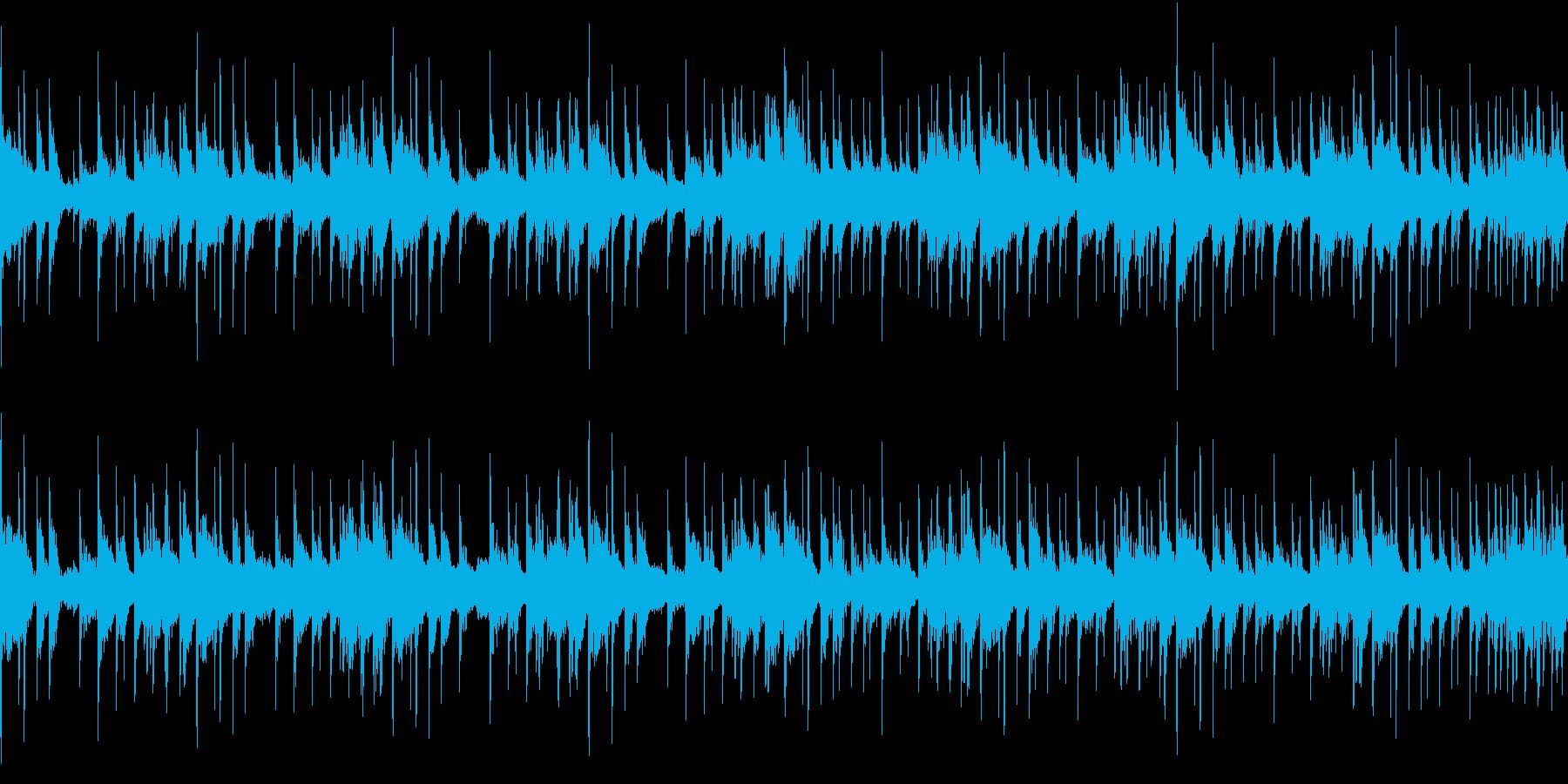 スローテンポなアーバンブルース ループ の再生済みの波形