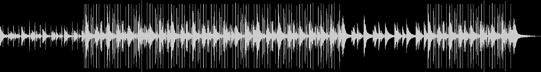 しっとりピアノlofi Hip Hopの未再生の波形