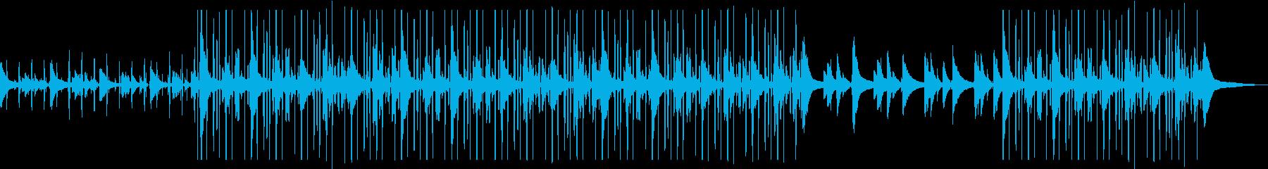 しっとりピアノlofi Hip Hopの再生済みの波形