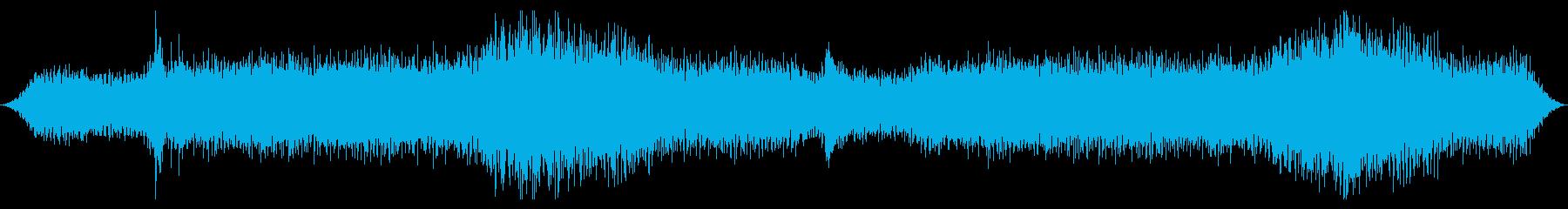 地下の不気味な風洞:メタリックエア...の再生済みの波形