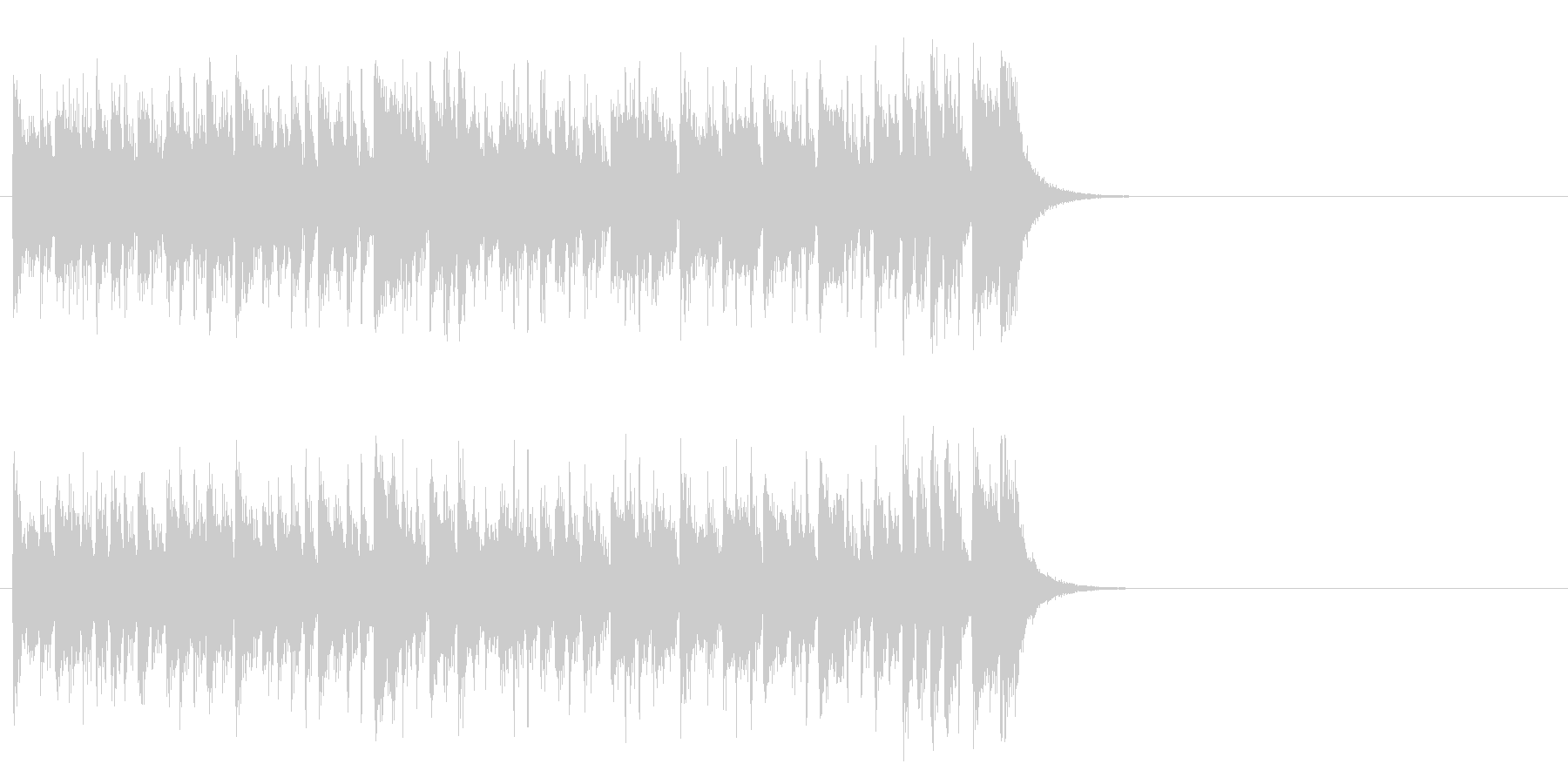 元気ハツラツOPポップス(イントロ)の未再生の波形