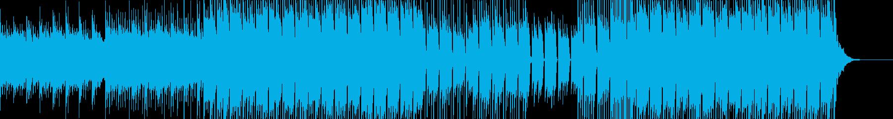 哀愁感の漂う3拍子のポップスの再生済みの波形