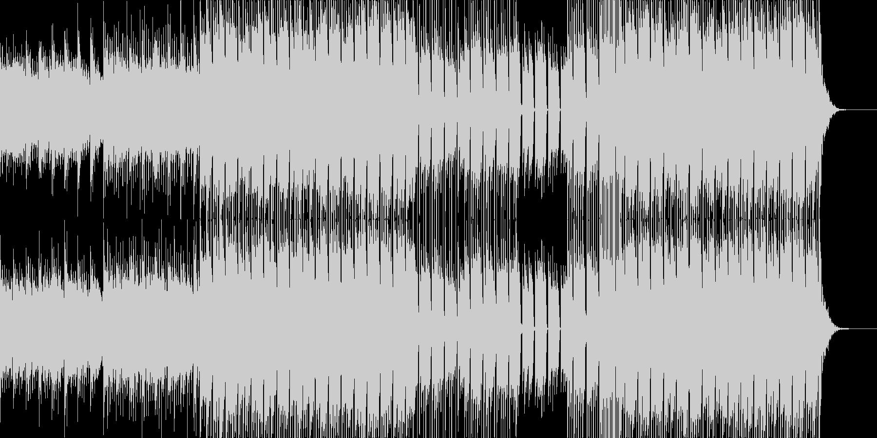 哀愁感の漂う3拍子のポップスの未再生の波形