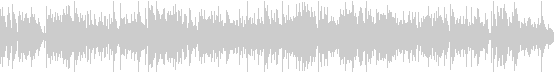 ソフトな色気あるゆっくりジャズ※ループ版の未再生の波形