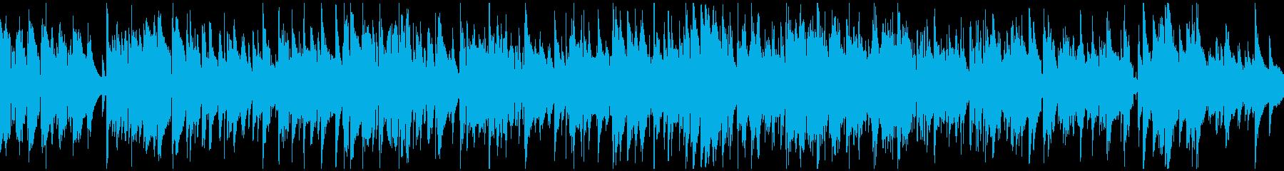 ソフトな色気あるゆっくりジャズ※ループ版の再生済みの波形