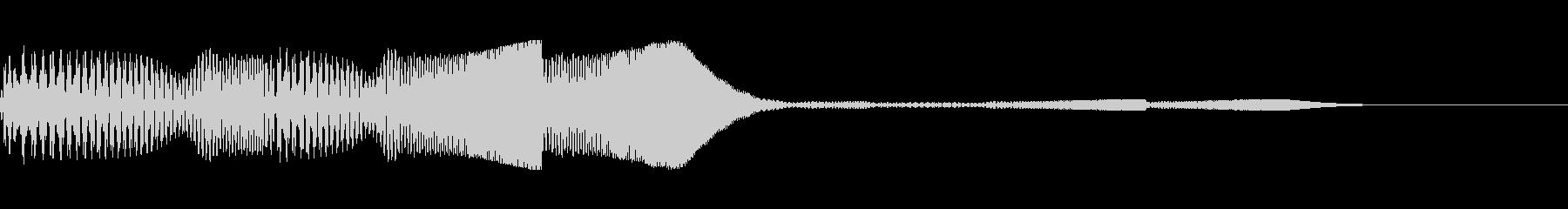 パズル消し等に使える泡のような音ですの未再生の波形