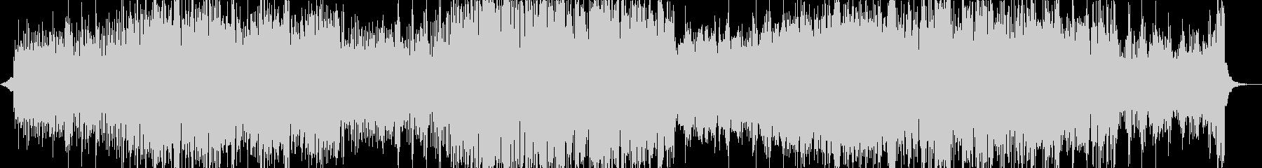 ハッピー 明るい ポジティブ ピアノ の未再生の波形
