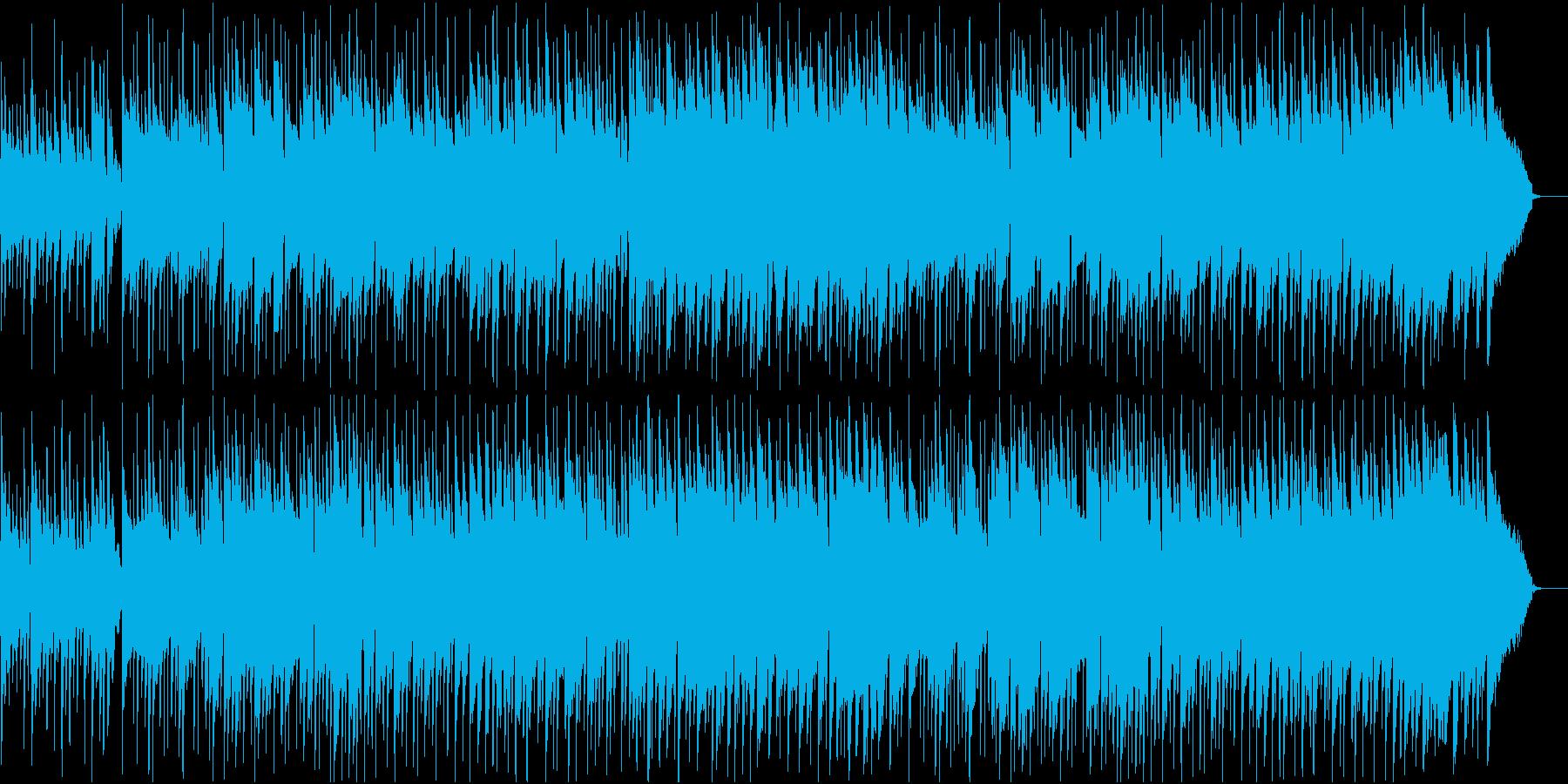 さわやかなBGMの再生済みの波形
