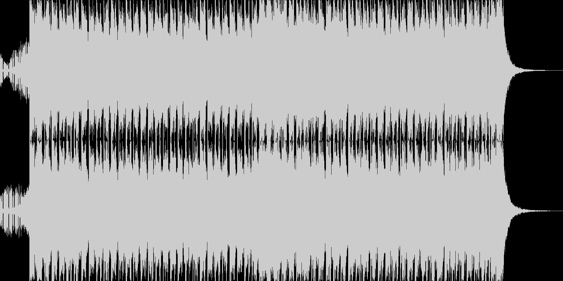 爽やか、おしゃれ、EDM系CM曲30秒の未再生の波形