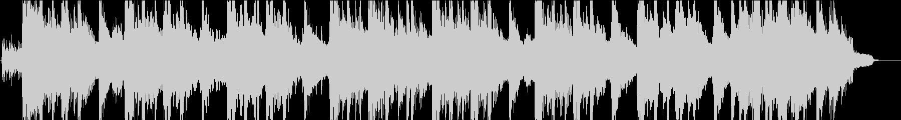 重厚でリズミカルなロックジングルの未再生の波形