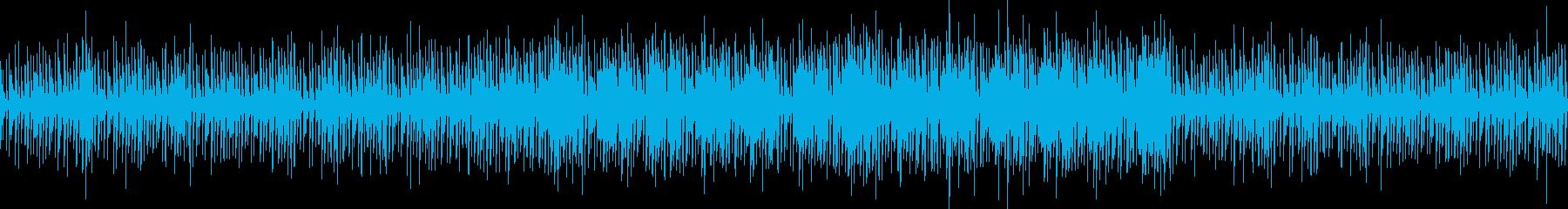 カッコいいチルテクノ、動画やゲームPVにの再生済みの波形