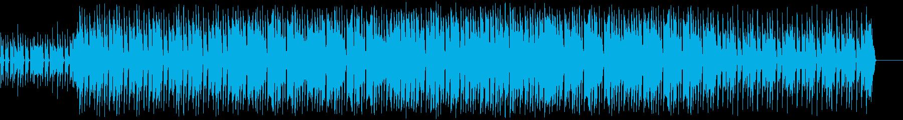 エレクトロスウィング/ジャジー/コミカルの再生済みの波形