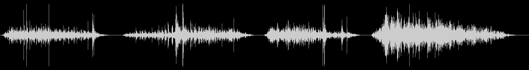 チェーン、重いけん引x4の未再生の波形