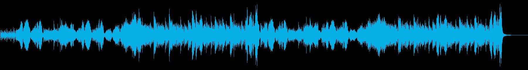 チャイコフスキー「花のワルツ」のカバーの再生済みの波形