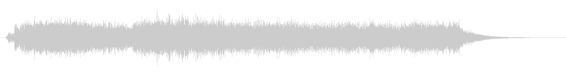 オーケストラでジャジャン ジャジャン6の未再生の波形