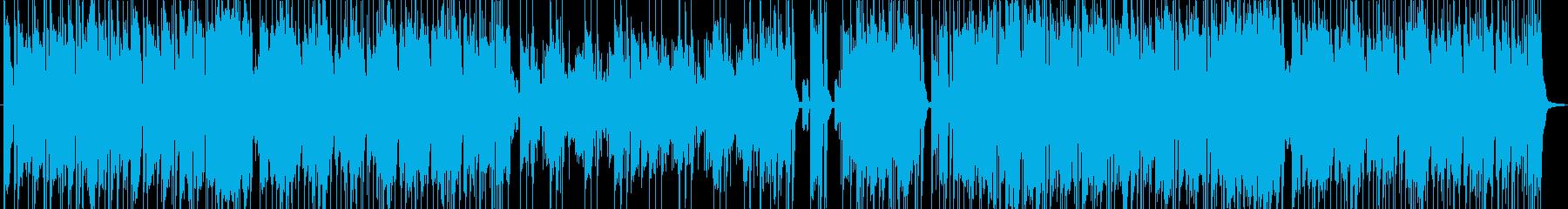明るくかっこいいポップフュージョンの再生済みの波形