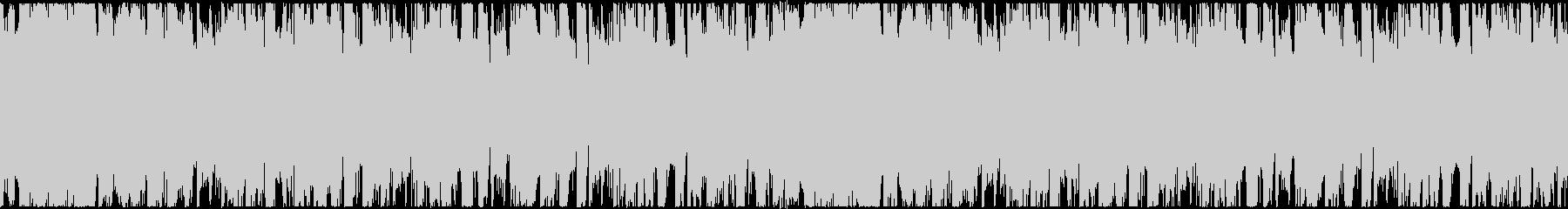 ラテンハウステイストのBGMの未再生の波形