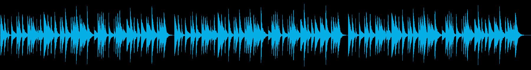 冬景色 18弁オルゴールの再生済みの波形