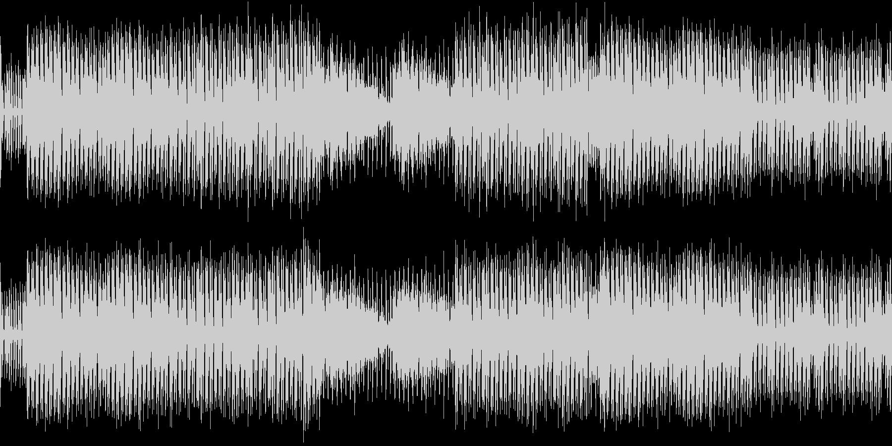 ループ)怪しいハロウィンおばけパーティの未再生の波形