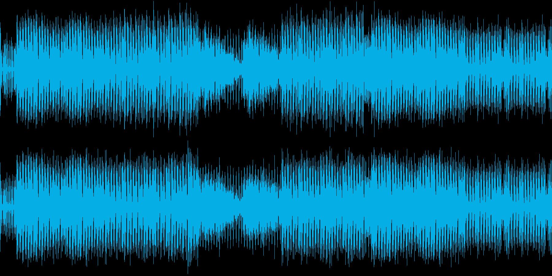 ループ)怪しいハロウィンおばけパーティの再生済みの波形