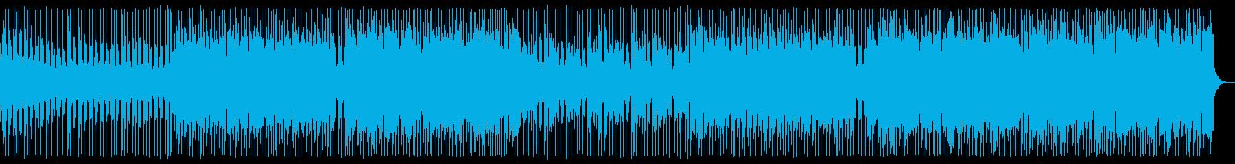 ディープハウス_No668_1の再生済みの波形