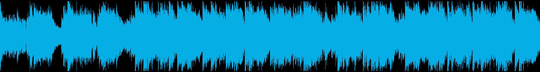 壮大で大河ドラマ的な和風曲※ループ仕様版の再生済みの波形