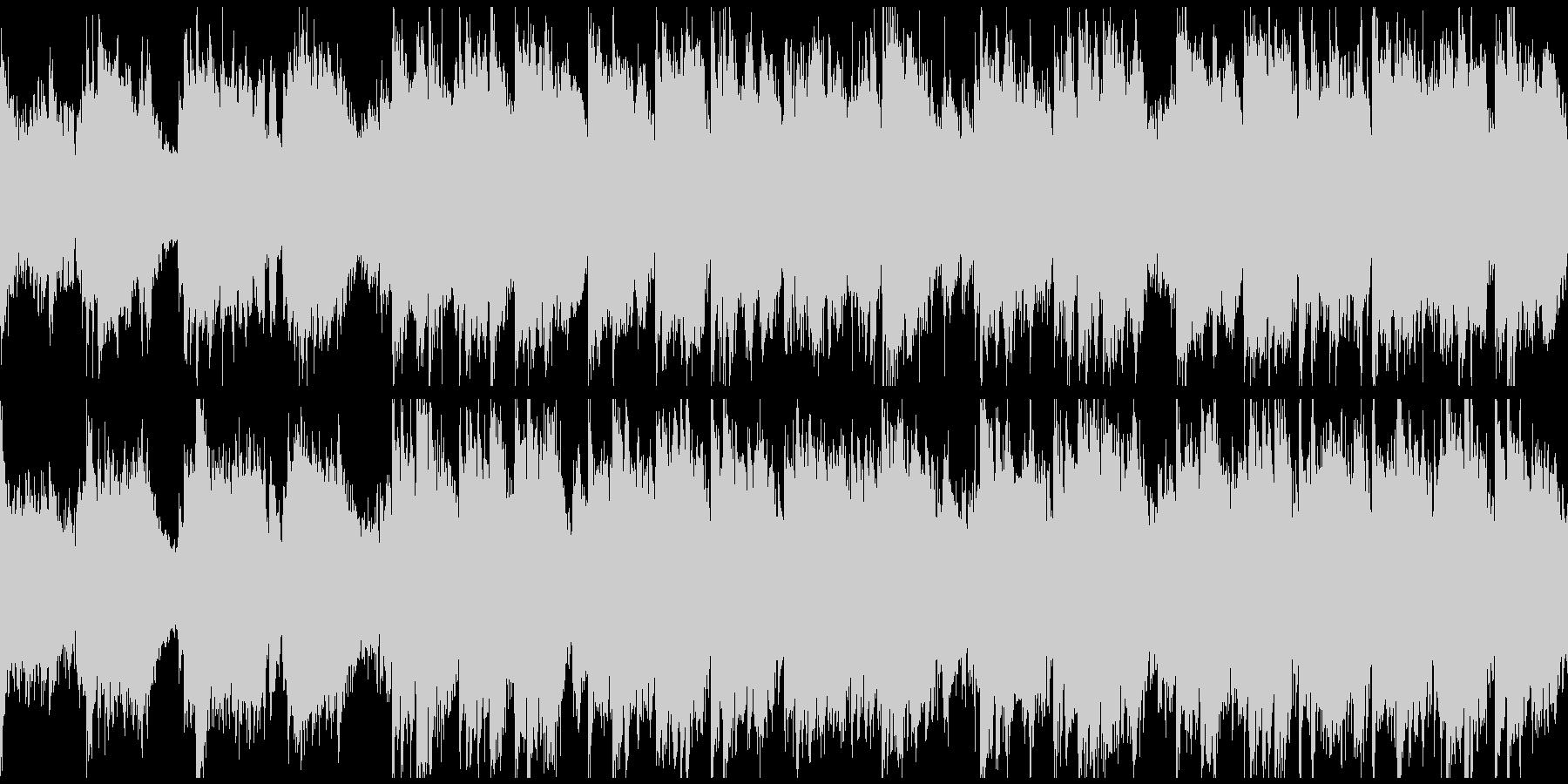 壮大で大河ドラマ的な和風曲※ループ仕様版の未再生の波形