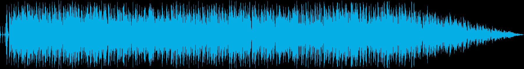 動画向けライトなポップスの再生済みの波形
