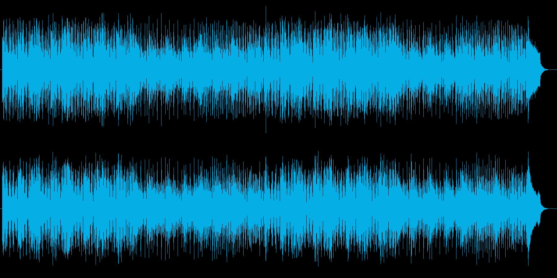 疾走・緊迫感のあるストリングミュージックの再生済みの波形