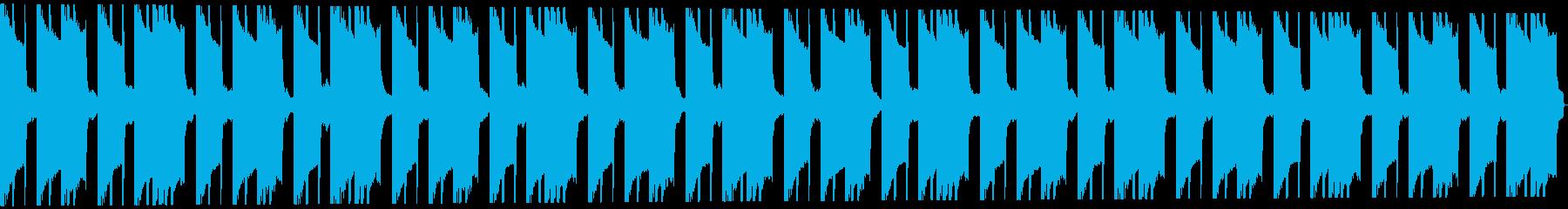 ホラートラップビート16小節の再生済みの波形