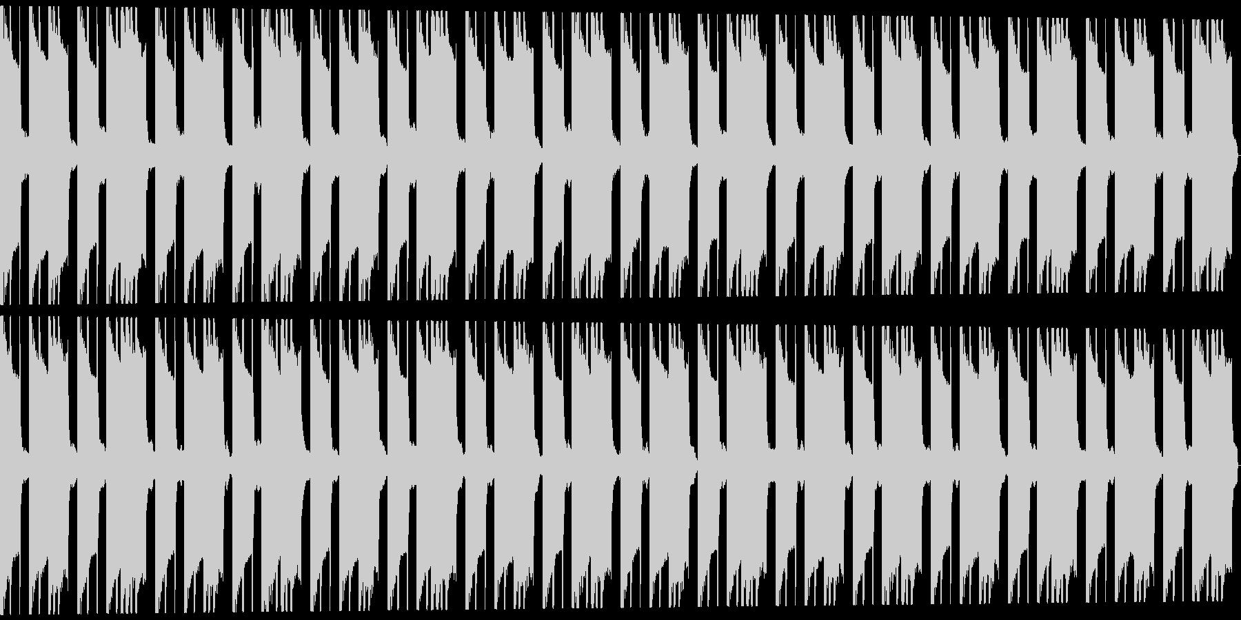 ホラートラップビート16小節の未再生の波形