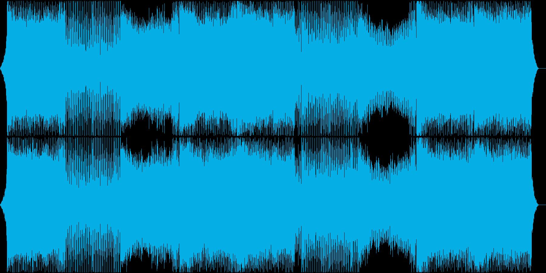力強く前を向いていける雰囲気のEDMの再生済みの波形