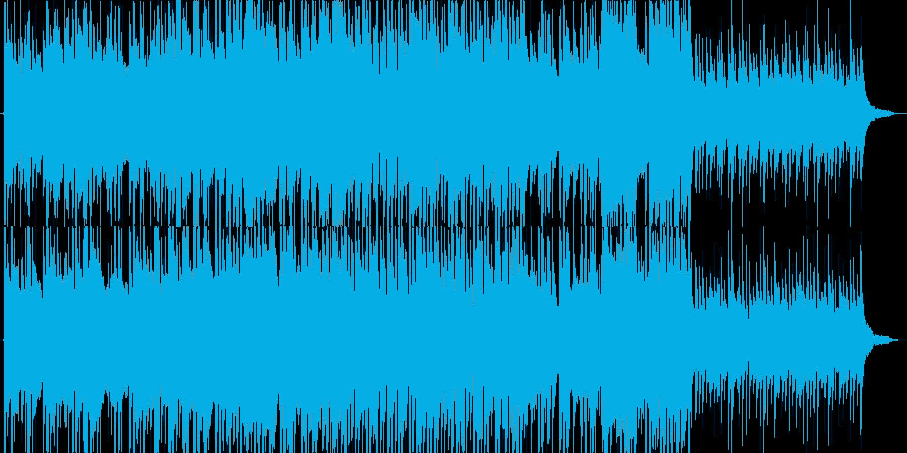 3拍子ワルツの穏やかエレクトロニカ_bの再生済みの波形