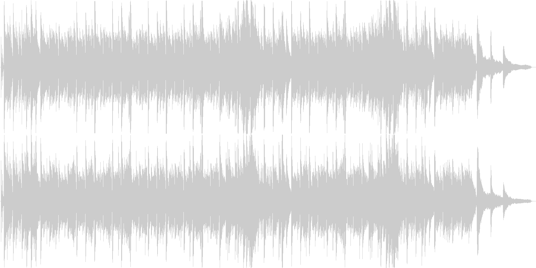 シンプルなピアノソロのBGMです。の未再生の波形