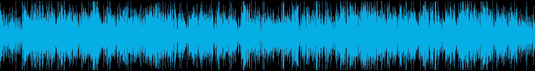 元気でかっこいいジャズ ※ループ仕様版の再生済みの波形