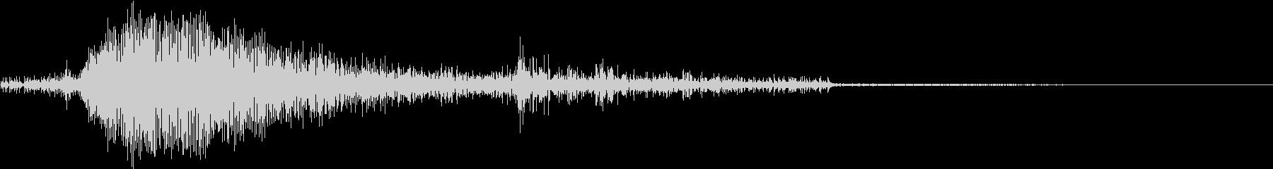 ザクッ(スコップ お金 操作音)の未再生の波形