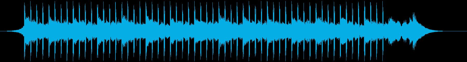 スタートアップ(40秒)の再生済みの波形