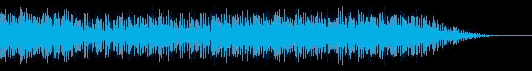 80s風 シンセウェーブ 未来 懐かしいの再生済みの波形