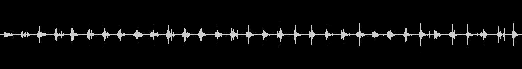 ステップ グラスウォーク01の未再生の波形