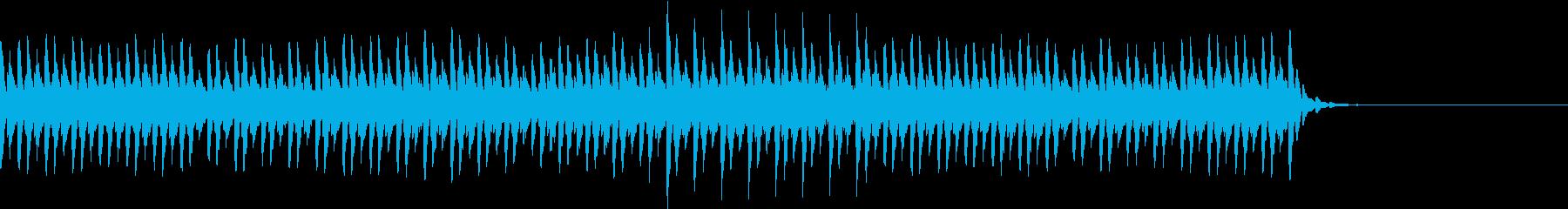 生演奏:美しく優しいディレイピアノの再生済みの波形