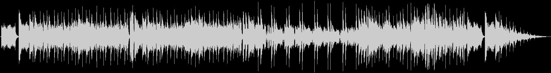 爽やかなフュージョン系の曲です。繰り返…の未再生の波形
