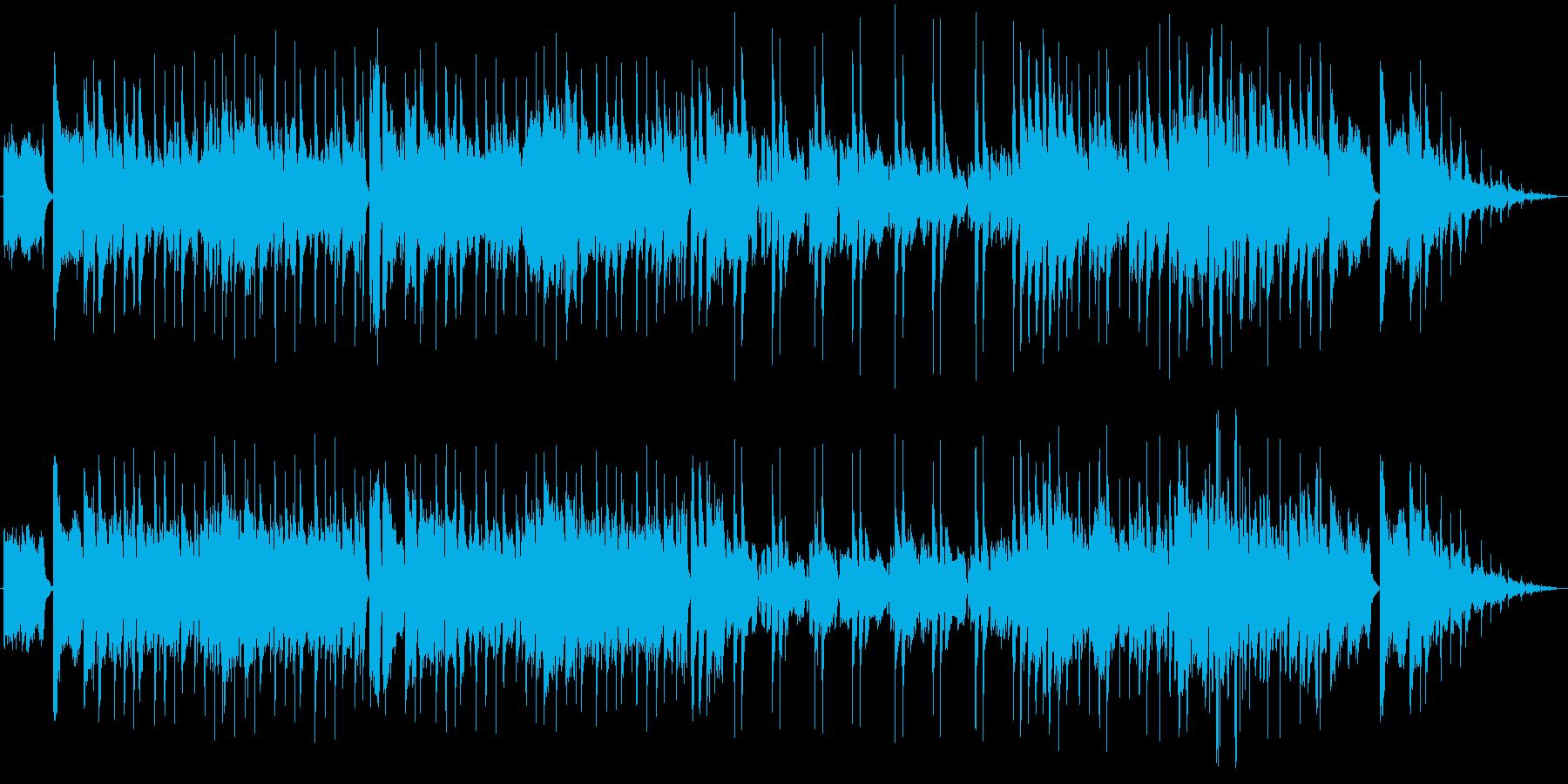 爽やかなフュージョン系の曲です。繰り返…の再生済みの波形